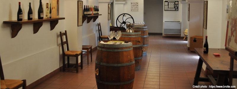 Musée vin Brotte