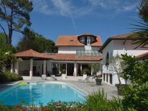Luxe Biarritz location villa de luxe