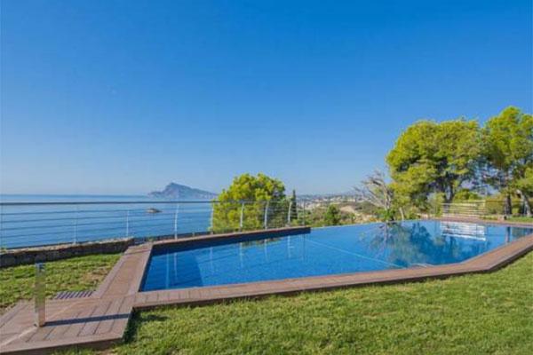 Location villa en Espagne avec piscine privée Blue and Beach