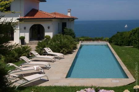 Villa piscine belles maisons piscine villas de charme for Location villa pays basque avec piscine