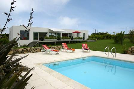 Vacation rental with heated pool Brittany, France.