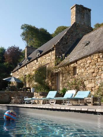 Location belle maison en bretagne avec piscine chauff e - Location bretagne piscine ...