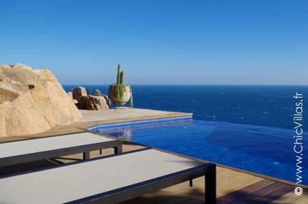 Location villa de luxe Costa Brava perchée avec vue sur mer