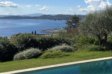 Luxury rental villa on the Côte d'Azur