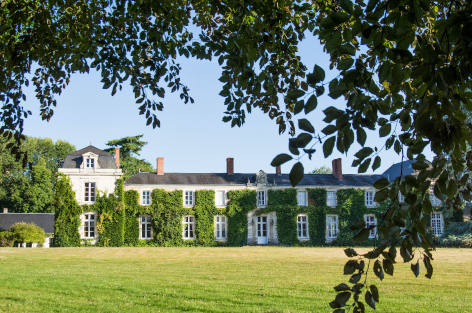 Holiday chateau near the Loire Valley in France