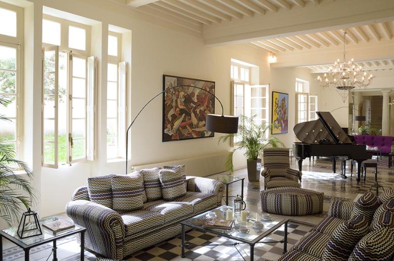 Chateau Esprit Sud - Location villa de luxe - Provence / Cote d Azur / Mediterran. - ChicVillas - 7