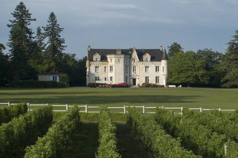 Luxury chateau rental in Gironde