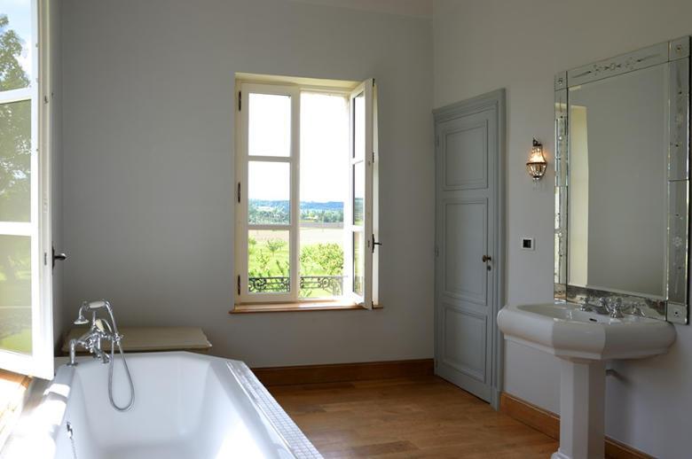 Chateau Les Hauts de Garonne - Location villa de luxe - Dordogne / Garonne / Gers - ChicVillas - 27
