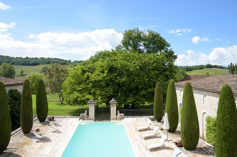Chateau Les Hauts de Garonne - Location villa de luxe - Dordogne / Garonne / Gers - ChicVillas - 29