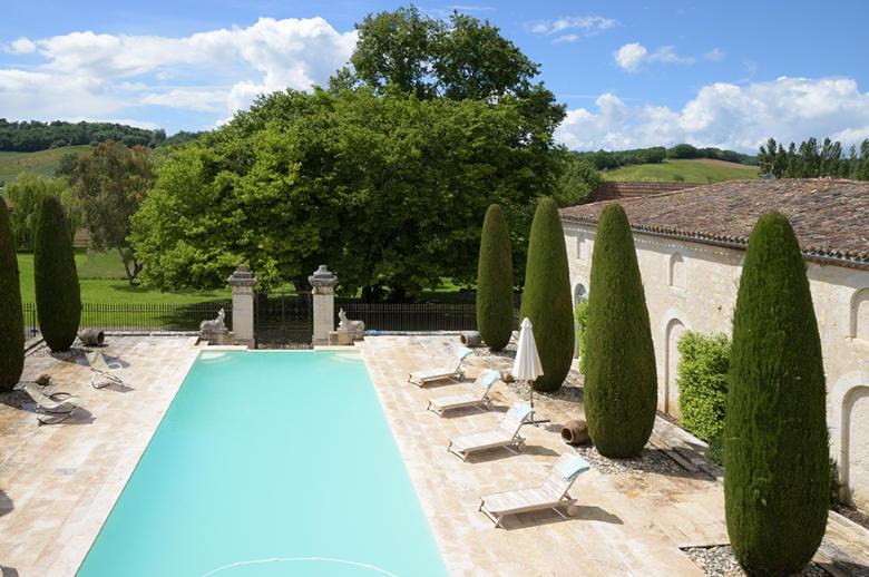 Chateau Les Hauts de Garonne - Location villa de luxe - Dordogne / Garonne / Gers - ChicVillas - 4