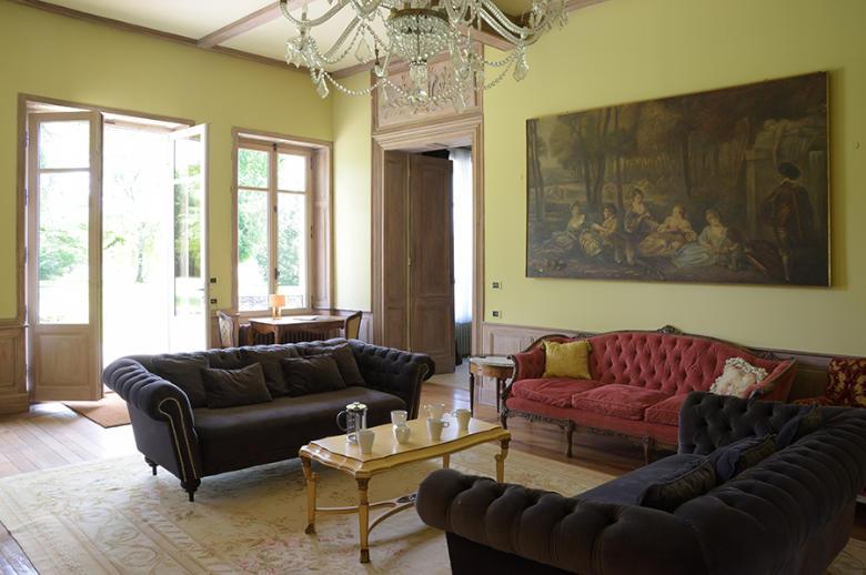 Chateau Les Hauts de Garonne - Location villa de luxe - Dordogne / Garonne / Gers - ChicVillas - 7