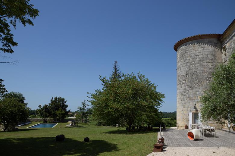 Chateau Wine and Design - Location villa de luxe - Dordogne / Garonne / Gers - ChicVillas - 13