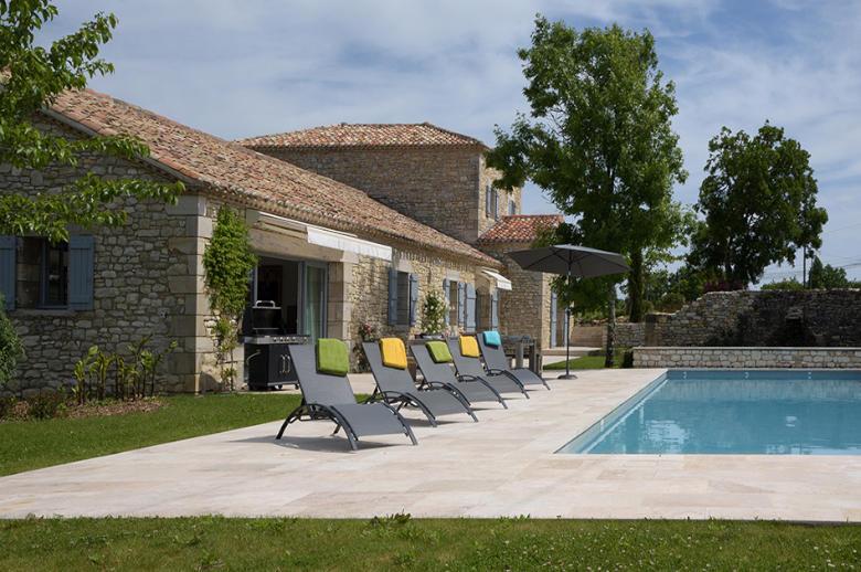 Demeure Coeur de Vignes - Location villa de luxe - Dordogne / Garonne / Gers - ChicVillas - 11