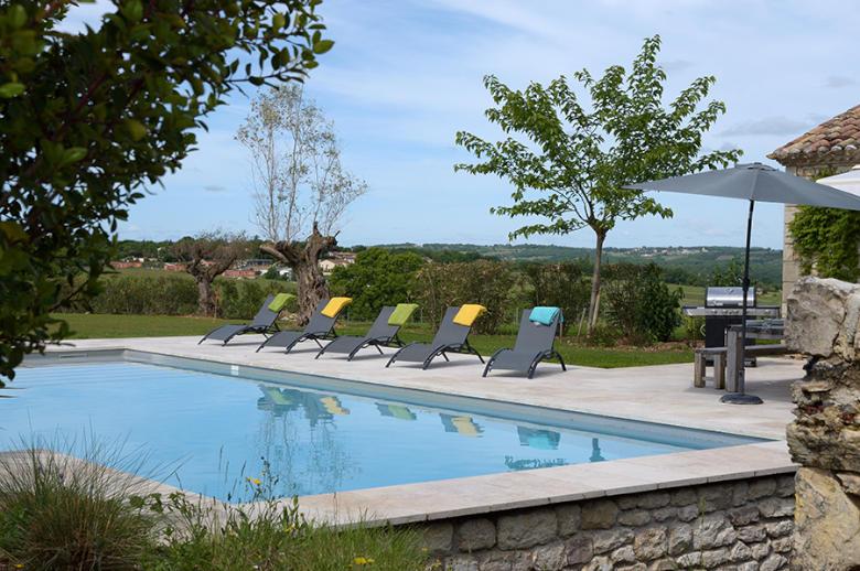 Demeure Coeur de Vignes - Location villa de luxe - Dordogne / Garonne / Gers - ChicVillas - 27