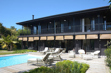 Exceptional villa with a pool in Cap-Ferret: Eden Cap-Ferret