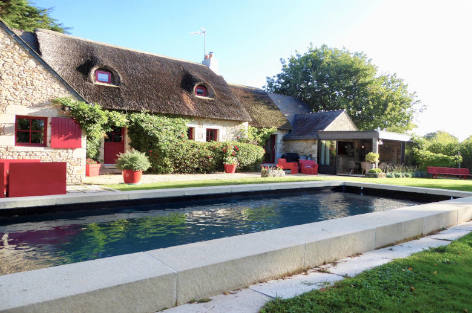 Plage ou Golfe - Luxury villa rentals with a pool in Brittany and Normandy | ChicVillas