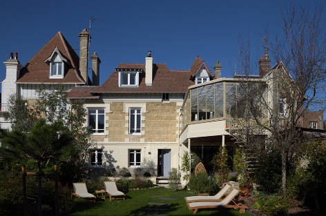 Holiday villa in Normandy near Deauville beach