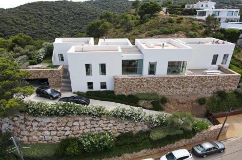 Location de villa contemporaine White Costa Brava
