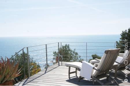 Location villa Espagne avec piscine et vue sur mer