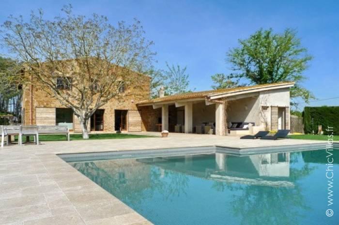 Location villa de luxe en Catalogne près de Gérone