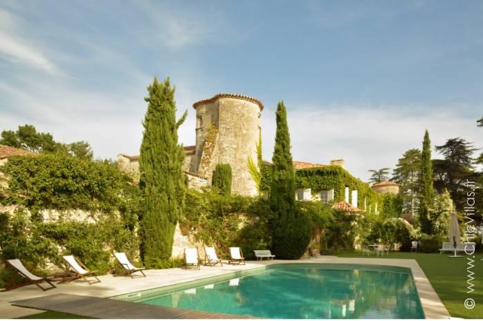 Un Chateau en Armagnac - Location villa de luxe - Dordogne / Garonne / Gers - ChicVillas - 2