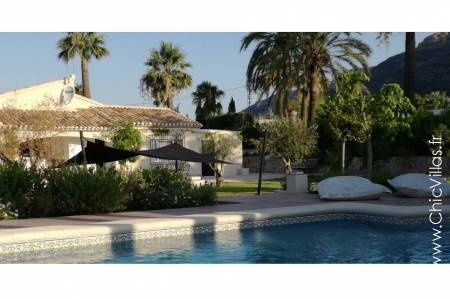 Beautiful Spanish holiday villa with a pool, Blanca Javea