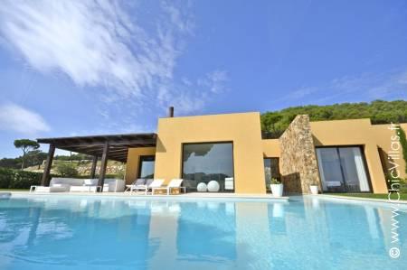 Location maison de luxe avec vue sur la Costa Brava
