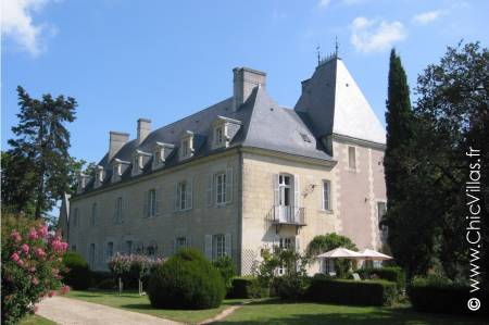 french chateau rental Loire