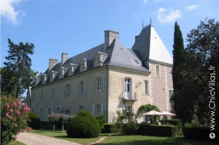 Chateau de Loire - Location de Châteaux dans la Vallee de la Loire | ChicVillas