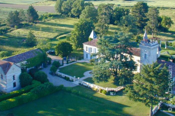 Chateau Heart of Gascony - Location villa de luxe - Dordogne / Garonne / Gers - ChicVillas - 4