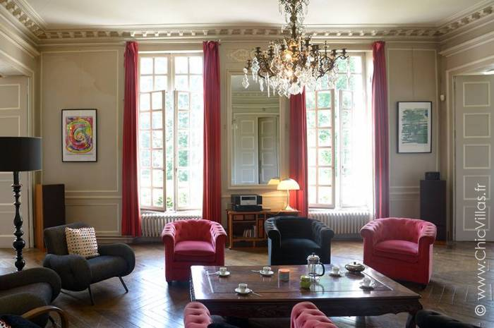 Chateau Paris Normandie - Location villa de luxe - Bretagne / Normandie - ChicVillas - 6