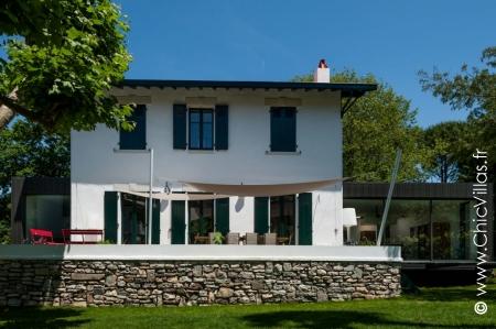 Location de villa de luxe Design Biarritz