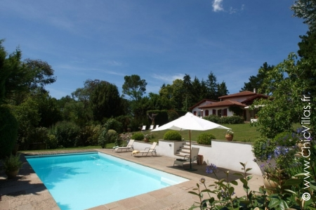 En Pente Douce - Luxury villa rentals with a pool in Aquitaine and Basque Country | ChicVillas