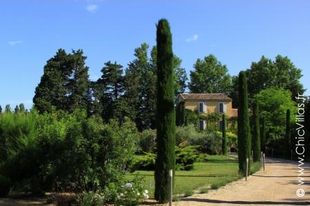 Location de villa de luxe Entre Avignon et Luberon