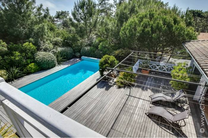 Ferret Cote Piscine - Location villa de luxe - Aquitaine / Pays Basque - ChicVillas - 16