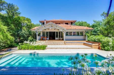 Rental villa near the Bassin d'Arcachon:  Ferret Tropical
