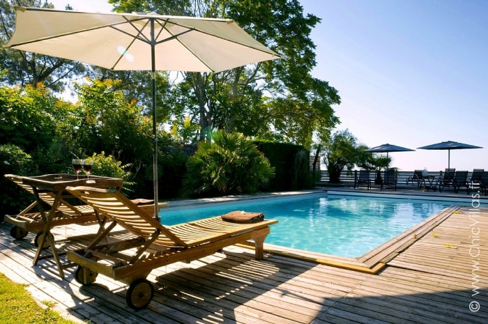piscine location villa de luxe au cap ferret