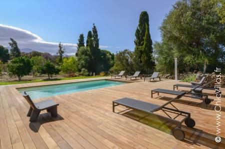 Location villa de charme en Corse, Entre Calvi et Balagne