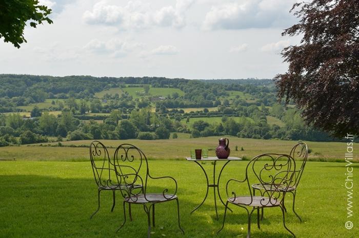 Location villa de prestige en normandie avec piscine chauff e for Location maison avec piscine en normandie