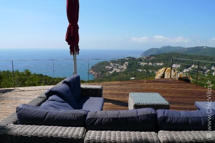 Location maison de luxe avec vue mer et plages