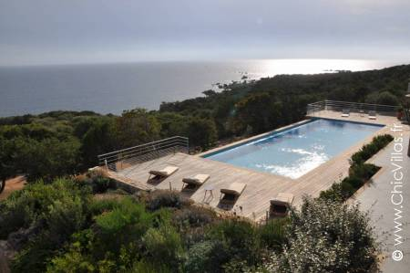 Luxury holiday villa Horizon Propriano