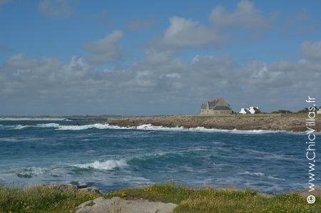 Seafront luxury villa rental in Brittany : Krugen