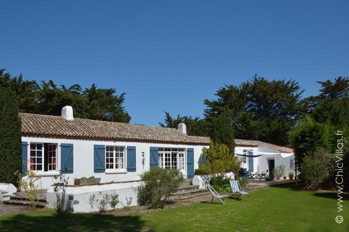 Location villa de charme avec un accès plage à Noirmoutier