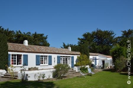 Luxury seaside french villa in La Dune Noirmoutier