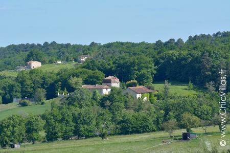 La Perigourdine - Location de Villas de Luxe avec Piscine en Dordogne / Garonne / Gers | ChicVillas