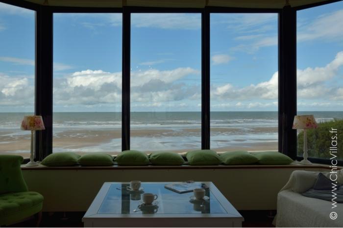 Villas plage villa vue mer demeures de charme bord de mer for Achat maison normandie bord de mer