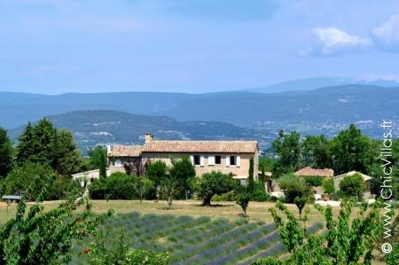 Lavandes du Luberon - Location de Villas de Luxe avec Piscine en Provence / Cote d Azur | ChicVillas