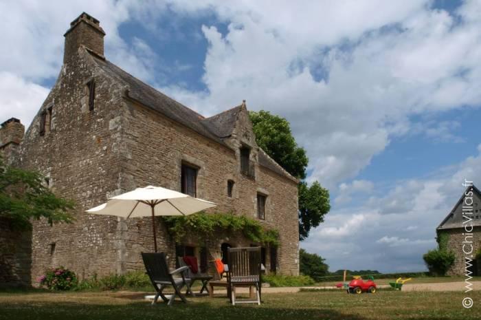 Location d'un manoir de charme du XVe en Bretagne