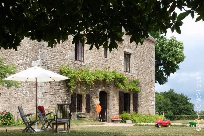 Le Bois Bas - Location villa de luxe - Bretagne / Normandie - ChicVillas - 12
