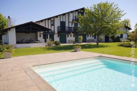 Hauts de Biarritz, lovely rental villa in the Basque Country